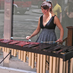 Alyk the Traveling Marimba Busker 2013 by TVS