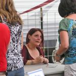 Carolyn Wonderland signing CDs 2013 by TVS