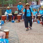 Djembe Jive Let's Drum Now 2013 by TVS