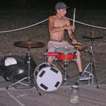Asbury Park Boardwalk Drummer 2012 by TVS