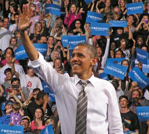 Barack Obama in Boulder 2012 by TVS
