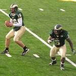 CSU Rams Caleb Hanie and Gantrell Johnson 2007 by TVS