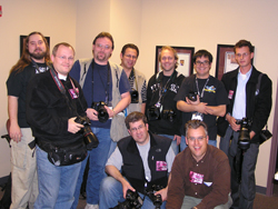 Camera Club- Motley Crue photog corps Photo by TVS