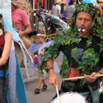 Camera Club- NewWestFest street drummers Photo by TVS
