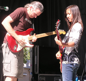 Dave Beegle and Michaela Rae 2010 by TVS