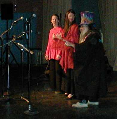 Ellen Metrick, Rosemerry Wahtola Trommer, Art Goodtimes 2005 by TVS