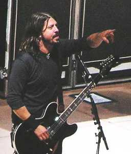 Foo Fighters- Dave Grohl 2008 by TVS