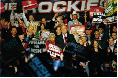 George W Bush 2004 by TVS