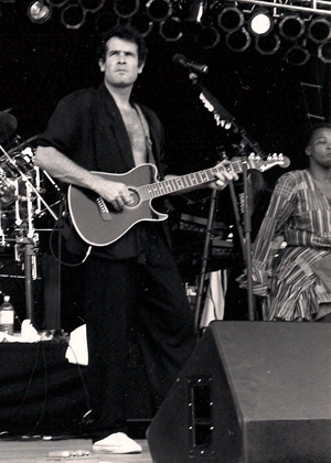 Johnny Clegg Photo by TVS