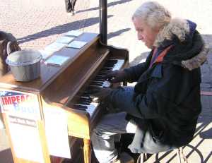 Pike Place Market Street Music 1 2007 by TVS