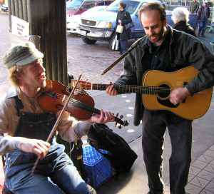 Pike Place Market Street Music 3 2007 by TVS
