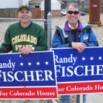 Randy Fischer and supporter 2006 by TVS