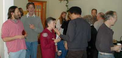 Sparrows poets incl Danny Rosen, Stewart S Warren, SETH, Dave Zekman 2005 by TVS