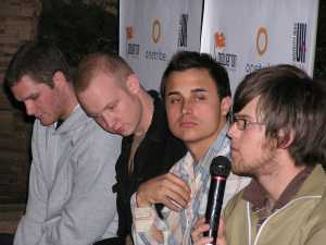 The Fray- press conference 2006 by TVS