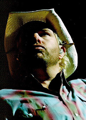 Toby Keith Photo by TVS