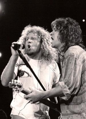 Van Halen Photo by TVS