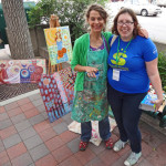 Charlotte Zink w Streetmosphere Stage Manager Nicole 2014 by TVS