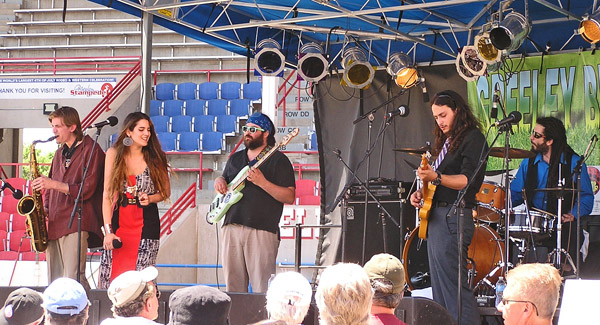 Ori Naftaly Band 1 2014 by TVS