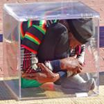 Pearl Street Mall Box Man 2014 by TVS